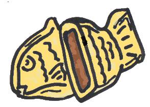 鯛焼き(色付き)
