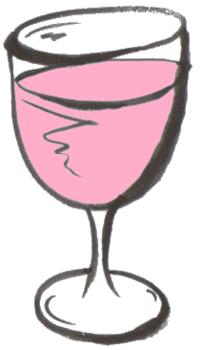 ワイングラス白筆 ロゼワイン.png